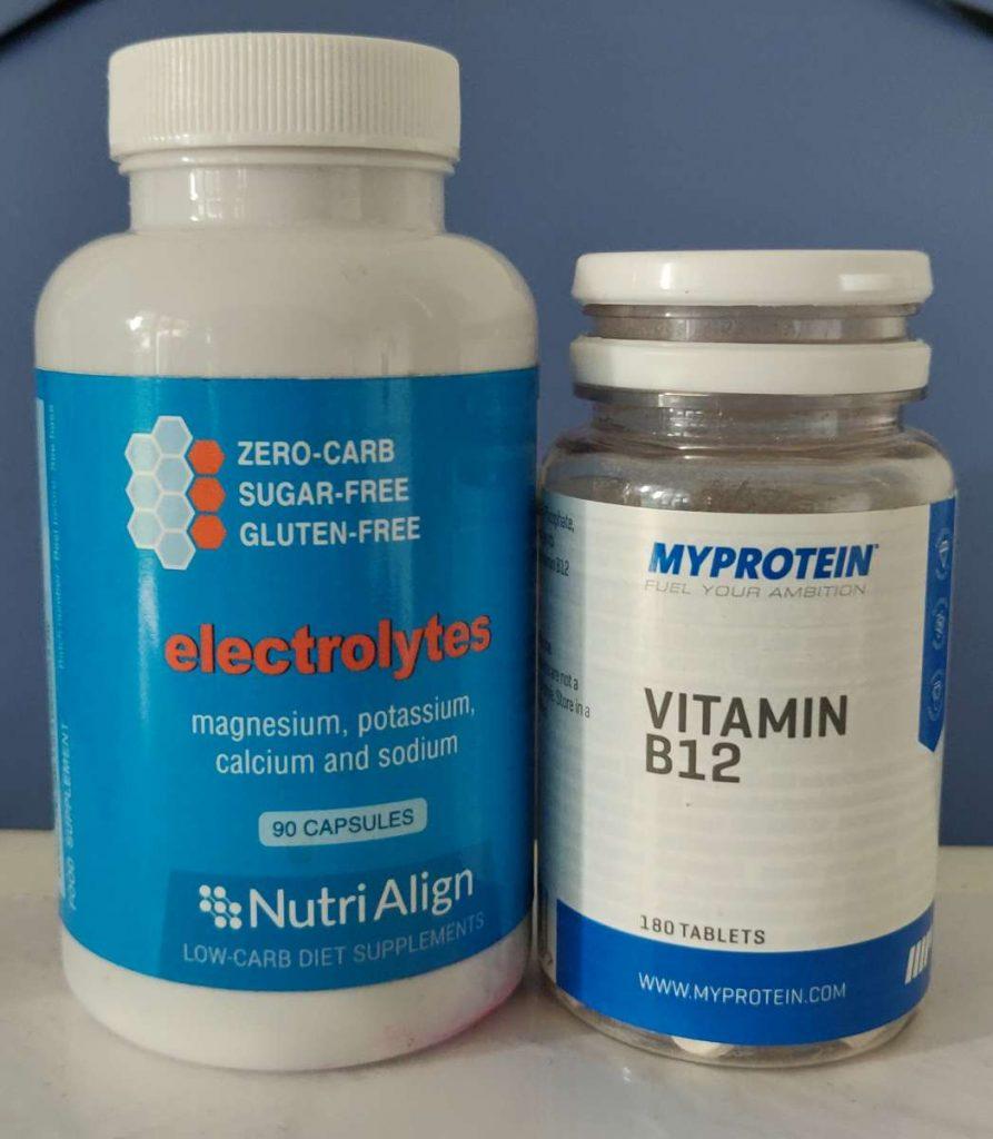 complément alimentaire électrolytes, vitamine b12