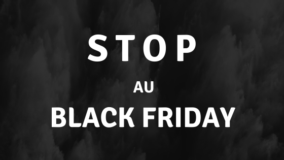 STOP au black Friday