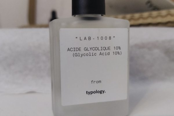 Test complet : Acide glycolique Typology