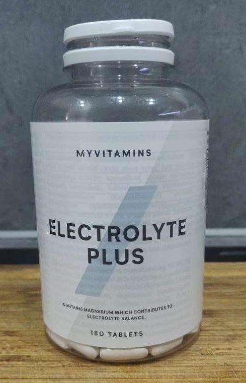 boite de compléments alimentaire myprotein electrolyte