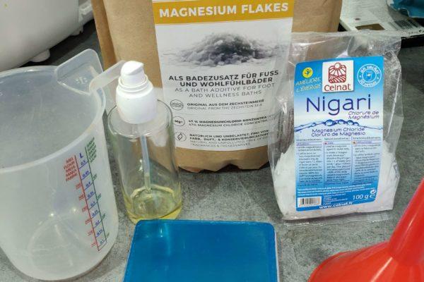 DIY : Huile de magnésium